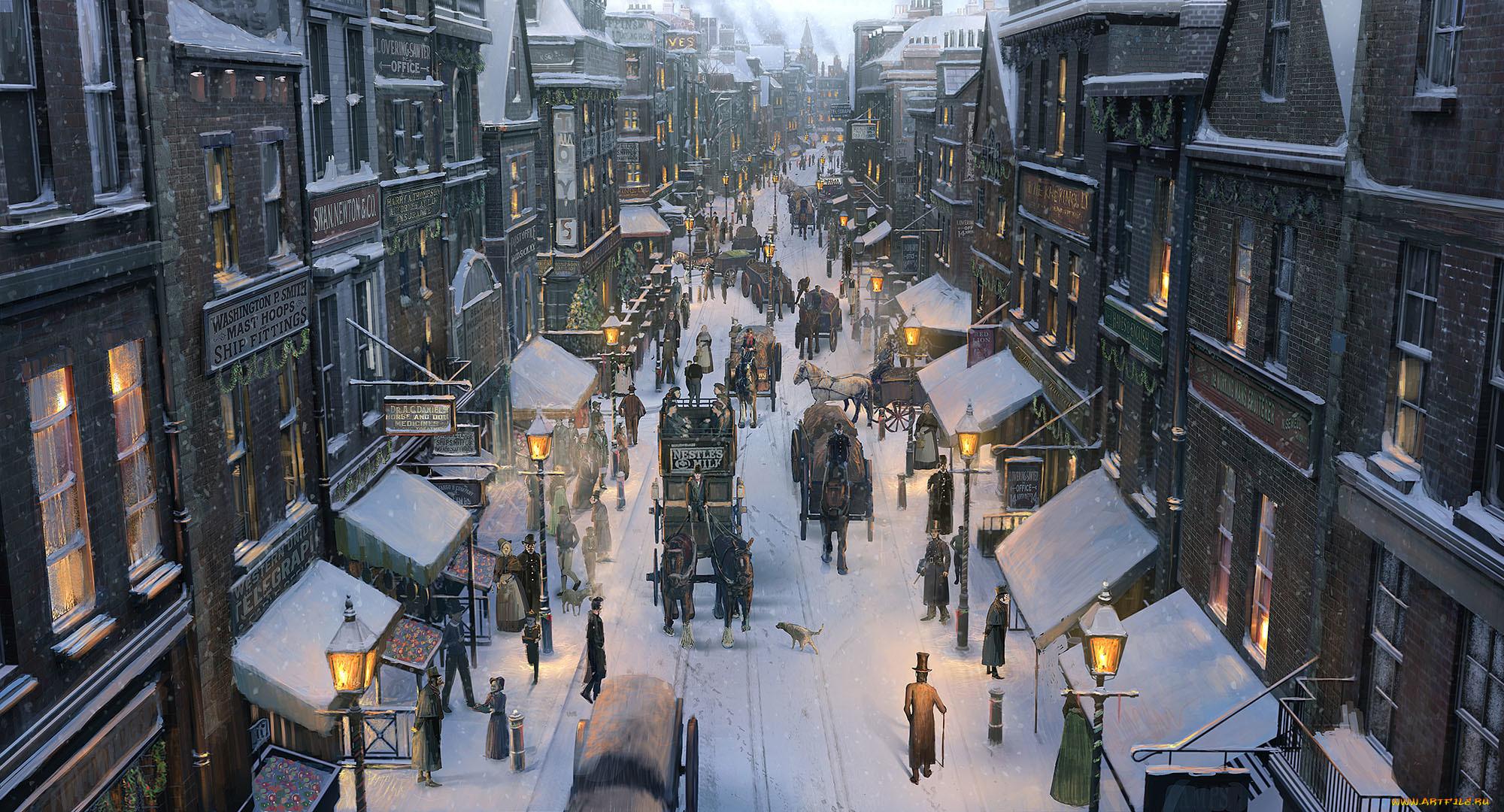 картинка зима город на рабочий стол камбербэтч только самые